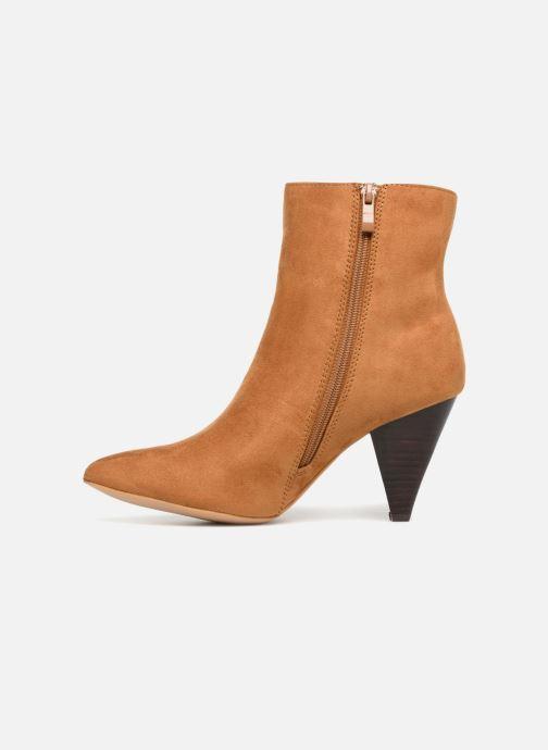 Bottines et boots I Love Shoes CONICA Marron vue face