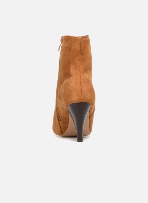 Botines  I Love Shoes CONICA Marrón vista lateral derecha