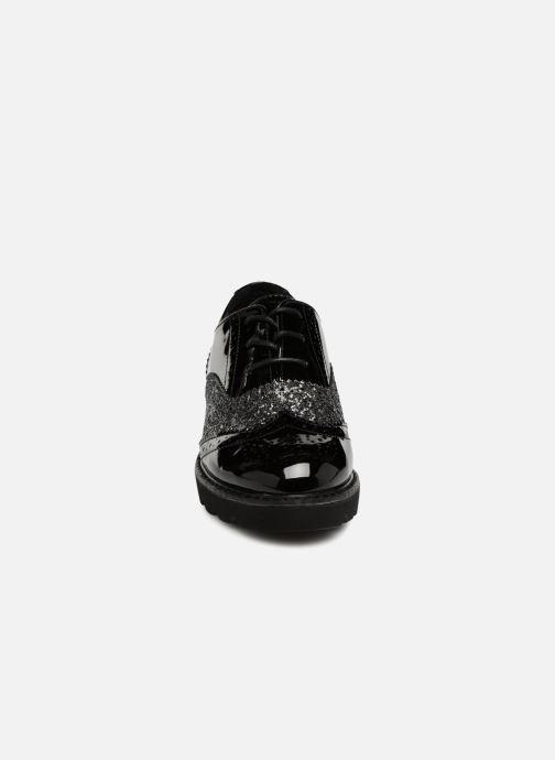 Scarpe con lacci I Love Shoes CABOLD Nero modello indossato