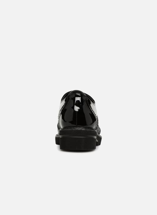 Scarpe con lacci I Love Shoes CABOLD Nero immagine destra