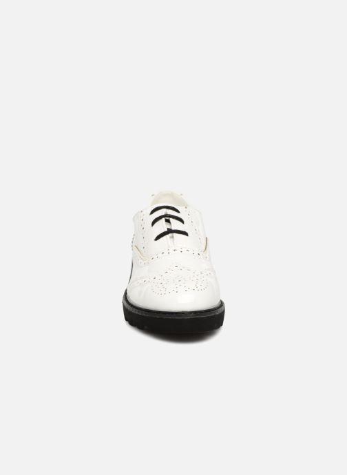 Chaussures à lacets I Love Shoes CABOLD Blanc vue portées chaussures
