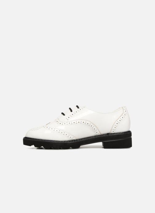 Chaussures à lacets I Love Shoes CABOLD Blanc vue face