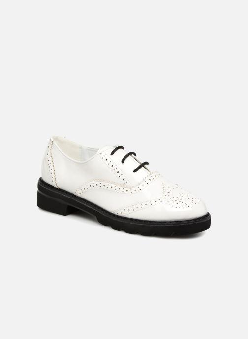 Chaussures à lacets I Love Shoes CABOLD Blanc vue détail/paire