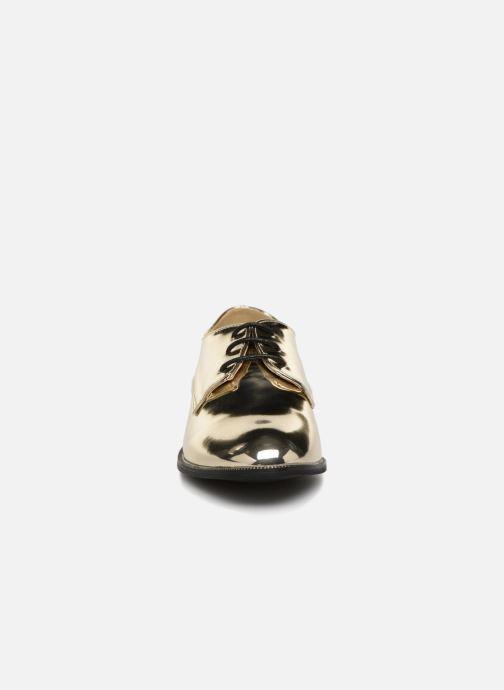Zapatos con cordones I Love Shoes CLEMINA Oro y bronce vista del modelo