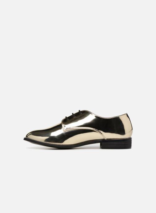 Chaussures à lacets I Love Shoes CLEMINA Or et bronze vue face
