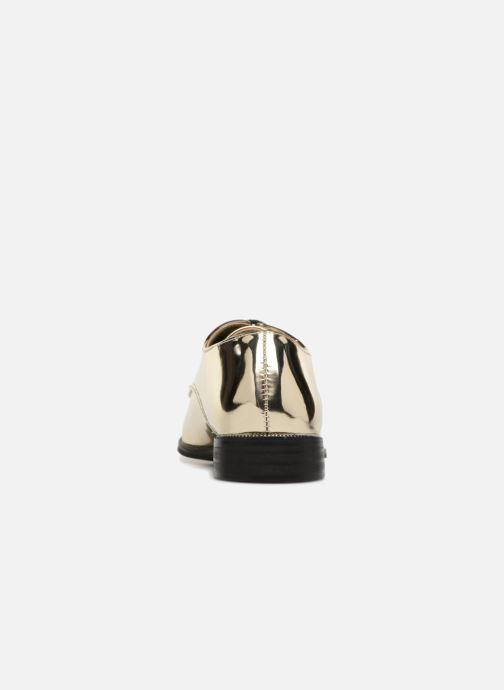 Zapatos con cordones I Love Shoes CLEMINA Oro y bronce vista lateral derecha