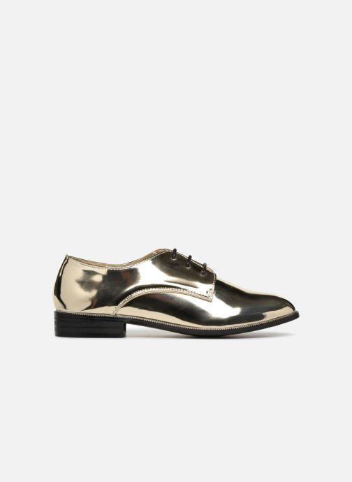 Chaussures à lacets I Love Shoes CLEMINA Or et bronze vue derrière