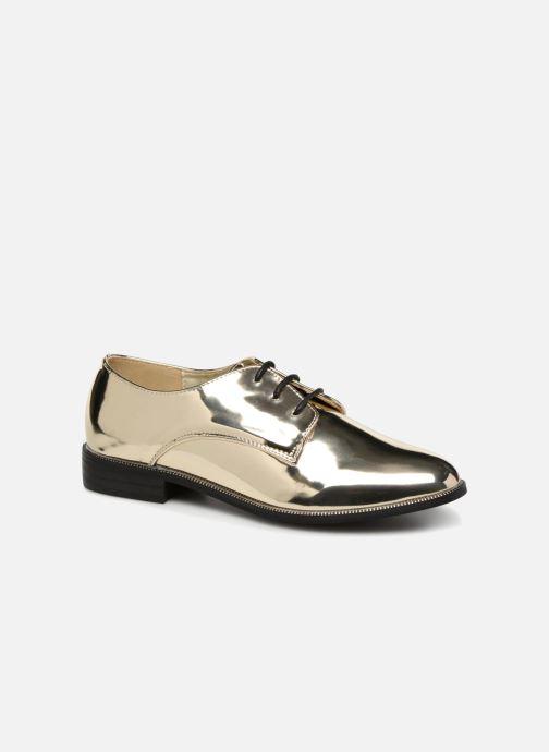 Chaussures à lacets I Love Shoes CLEMINA Or et bronze vue détail/paire