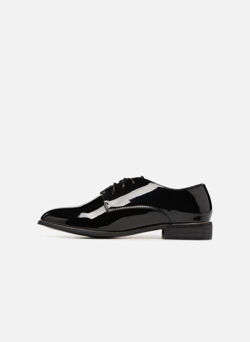 Chaussures à lacets I Love Shoes CLEMINA Noir vue face
