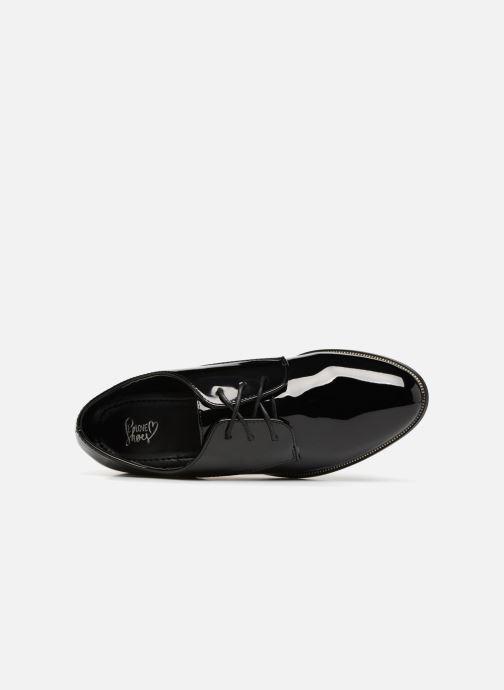 Schnürschuhe I Love Shoes CLEMINA schwarz ansicht von links