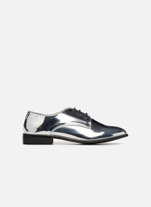 Schnürschuhe I Love Shoes CLEMINA silber ansicht von hinten