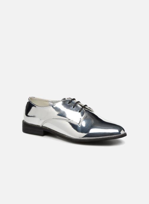 Zapatos con cordones I Love Shoes CLEMINA Plateado vista de detalle / par