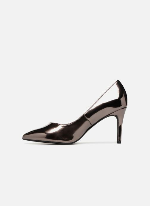 High heels I Love Shoes CADAME Silver front view