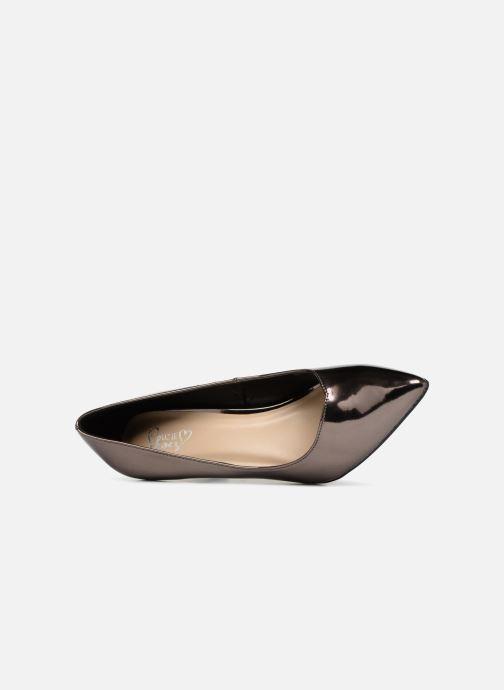 Zapatos de tacón I Love Shoes CADAME Plateado vista lateral izquierda