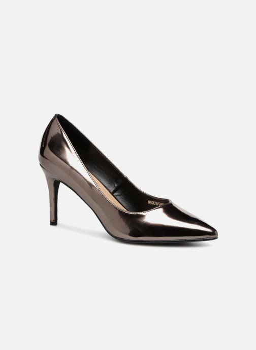 Escarpins I Love Shoes CADAME Argent vue détail/paire