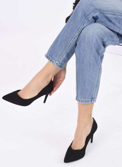 Escarpins I Love Shoes CADAME Noir vue bas / vue portée sac