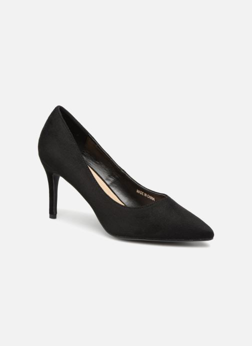 High heels I Love Shoes CADAME Black detailed view/ Pair view