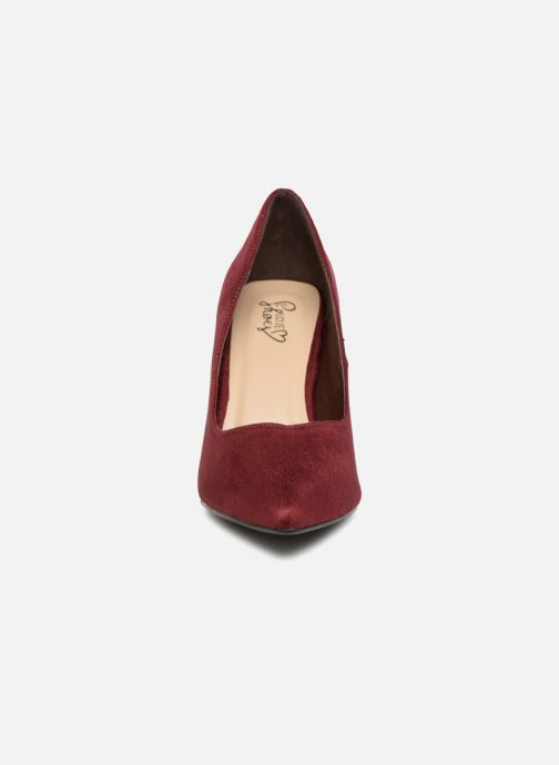 High heels I Love Shoes CADAME Burgundy model view