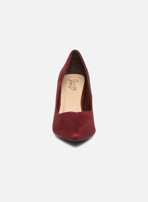 High heels I Love Shoes CADAME Burgundy model view