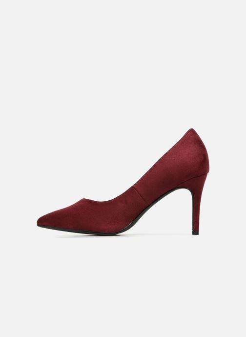 High heels I Love Shoes CADAME Burgundy front view