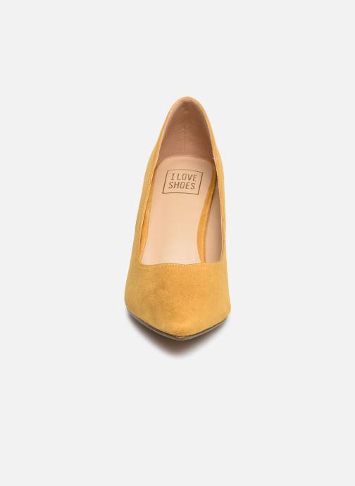 Escarpins I Love Shoes CADAME Jaune vue portées chaussures