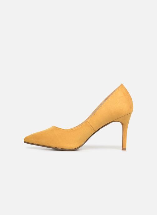 Zapatos de tacón I Love Shoes CADAME Amarillo vista de frente
