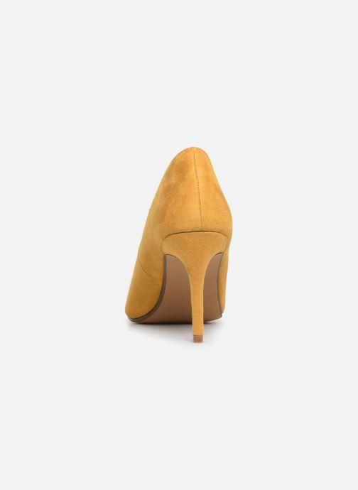 Zapatos de tacón I Love Shoes CADAME Amarillo vista lateral derecha