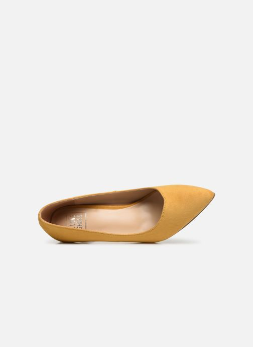 Zapatos de tacón I Love Shoes CADAME Amarillo vista lateral izquierda
