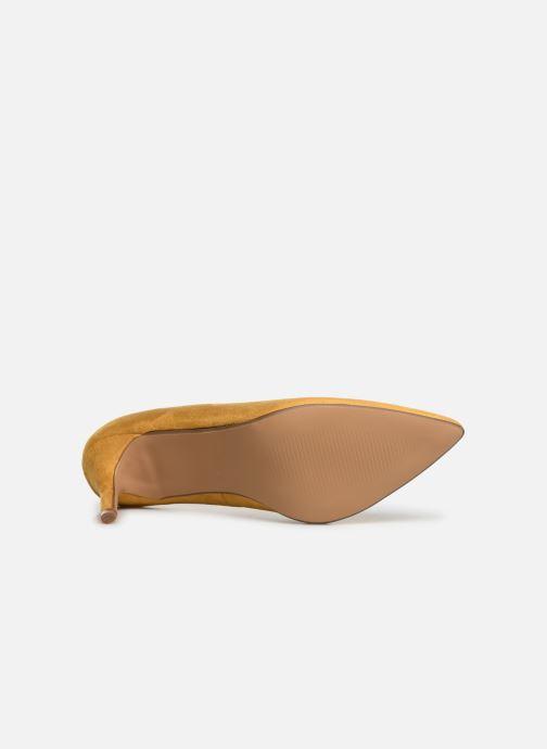 Zapatos de tacón I Love Shoes CADAME Amarillo vista de arriba