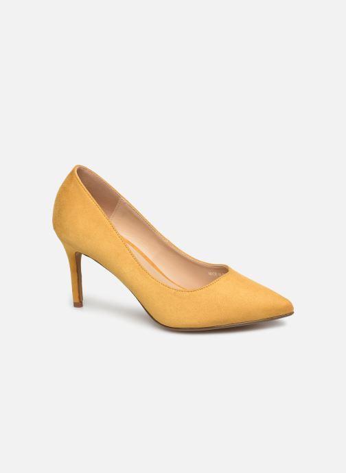 Escarpins I Love Shoes CADAME Jaune vue détail/paire