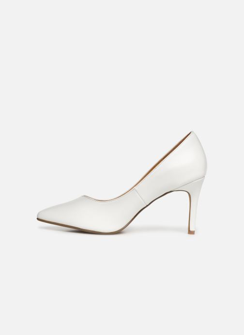High heels I Love Shoes CADAME White front view