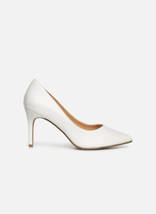 High heels I Love Shoes CADAME White back view
