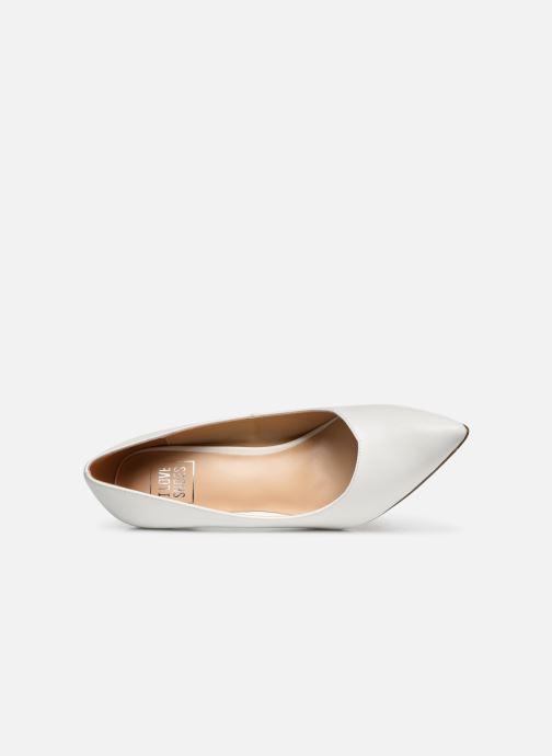Escarpins I Love Shoes CADAME Blanc vue gauche