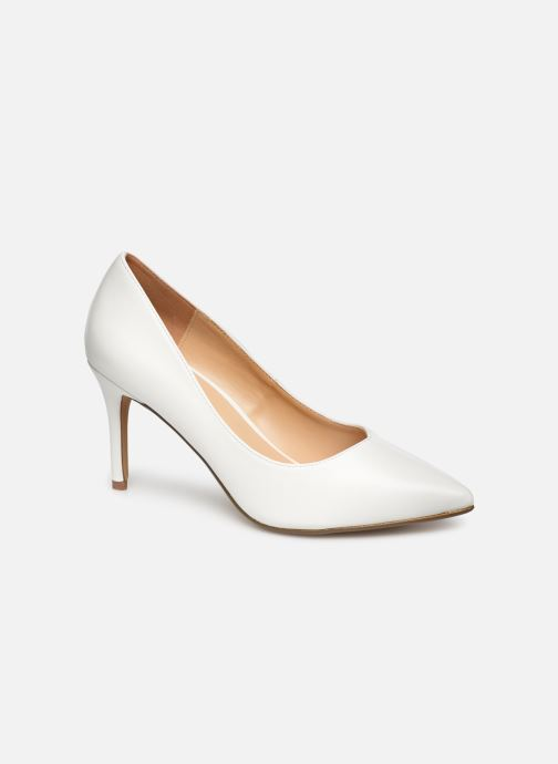 High heels I Love Shoes CADAME White detailed view/ Pair view