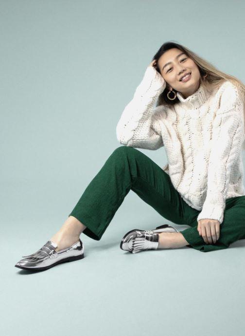 Mocassins I Love Shoes CANOE Argent vue bas / vue portée sac