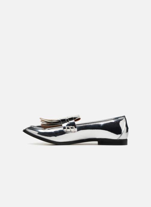 Mocasines I Love Shoes CANOE Plateado vista de frente