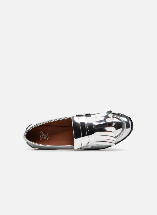 Mocasines I Love Shoes CANOE Plateado vista lateral izquierda