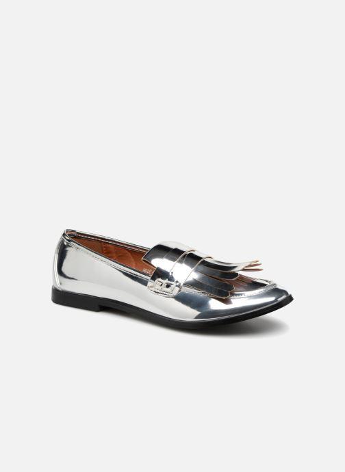 Mocassins I Love Shoes CANOE Argent vue détail/paire