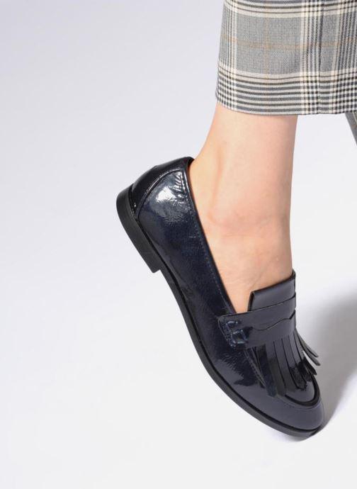 Mocasines I Love Shoes CANOE Azul vista de abajo