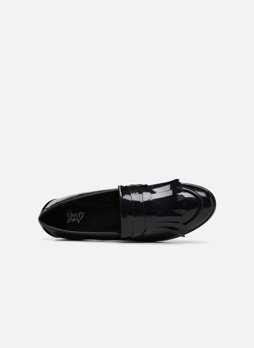 Mocasines I Love Shoes CANOE Azul vista lateral izquierda
