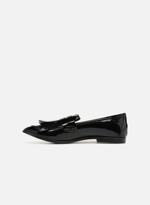 Mocasines I Love Shoes CANOE Negro vista de frente