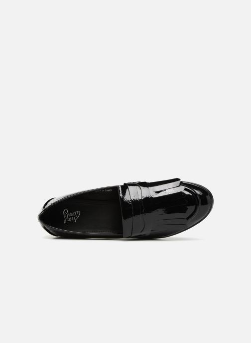 Mocasines I Love Shoes CANOE Negro vista lateral izquierda