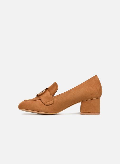 Mocasines I Love Shoes CABOUCLE Marrón vista de frente