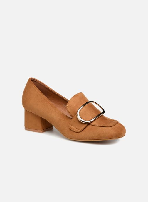 Loafers I Love Shoes CABOUCLE Brown detailed view/ Pair view