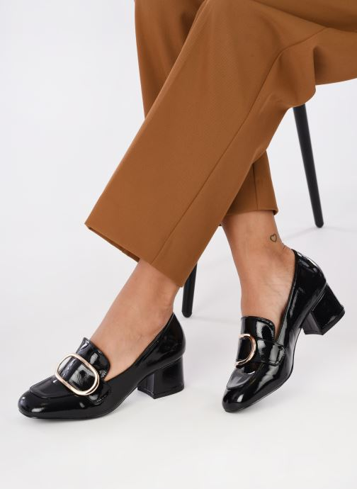 Mocassins I Love Shoes CABOUCLE Noir vue bas / vue portée sac