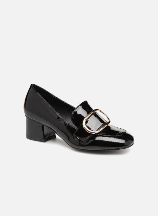 Loafers I Love Shoes CABOUCLE Sort detaljeret billede af skoene