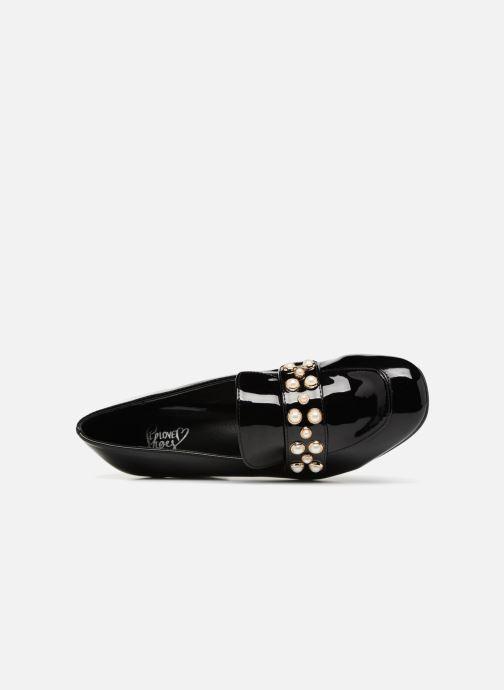 Mocasines I Love Shoes CAPERLE Negro vista lateral izquierda