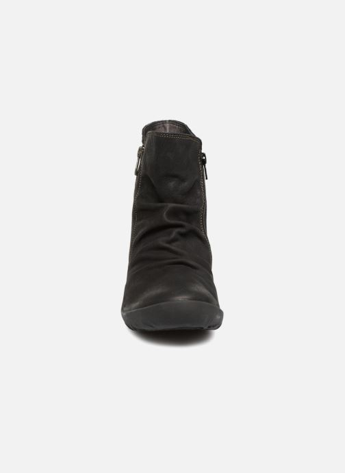 ThinkGuetsho Bottines Schwarz 83059 Boots Et vOwm0yN8n