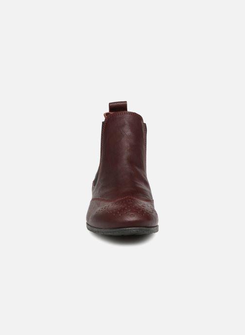 Bottines et boots Think! Ebbs 83136 Rouge vue portées chaussures