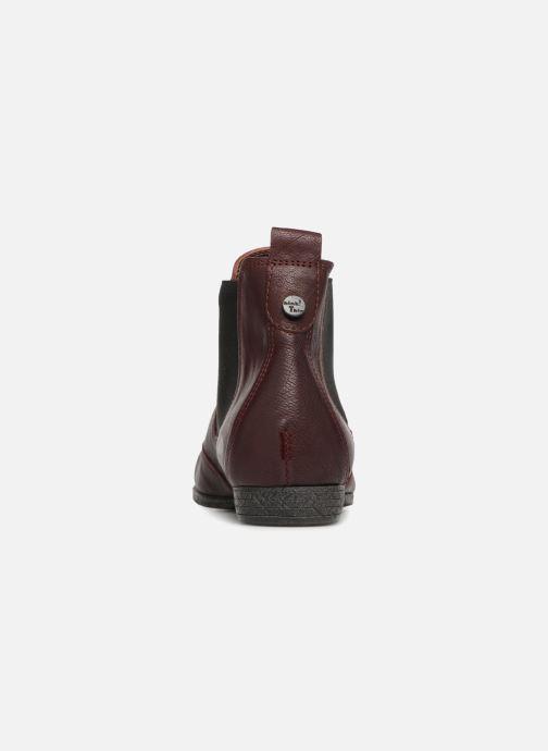 Bottines et boots Think! Ebbs 83136 Rouge vue droite